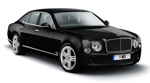 Bentley Mulsanne in Onyx Black