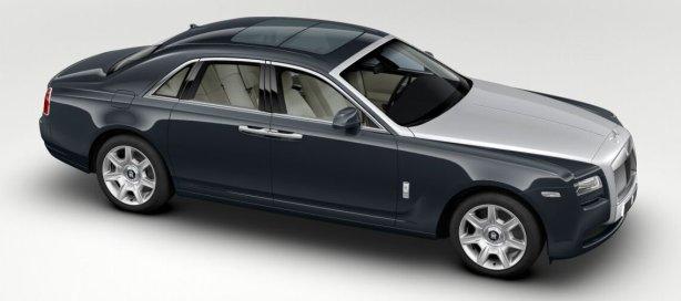 Rolls Royce Ghost in Darkest Tungsten