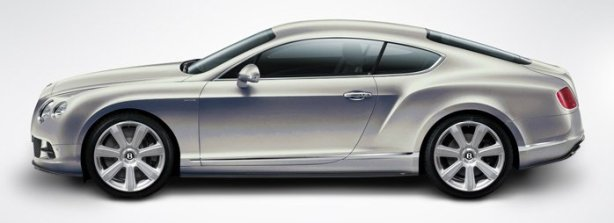 Bentley Continental GT W12 in Extreme Silver