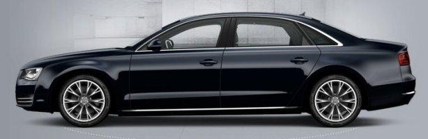 Audi A8 4.2 Tdi LWB in Night Blue