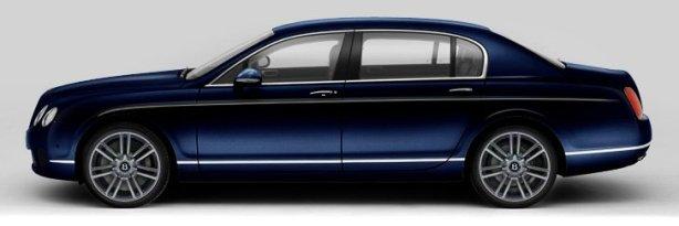 Bentley Flying Spur Mulliner in Dark Sapphire