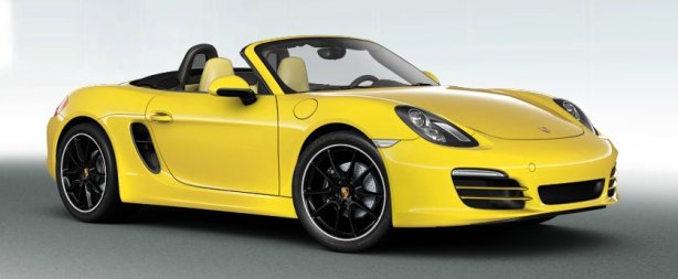 Porsche Boxster in Racing Yellow