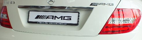 Mercedes Benz C63 AMG Black Series in Diamond White
