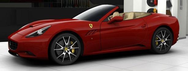Ferrari California in Rosso Corsa