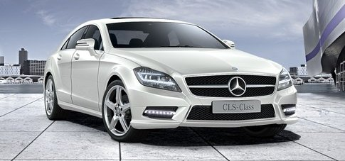 Mercedes Benz CLS 250 CDi in Diamond White