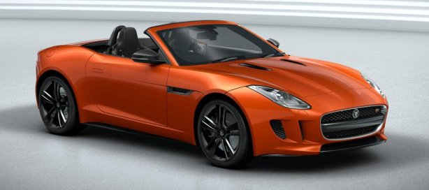 Jaguar F-Type in Firesand Metallic