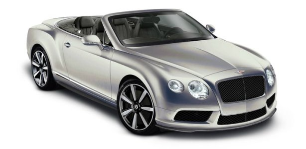 Bentley GTC V8 in Extreme Silver