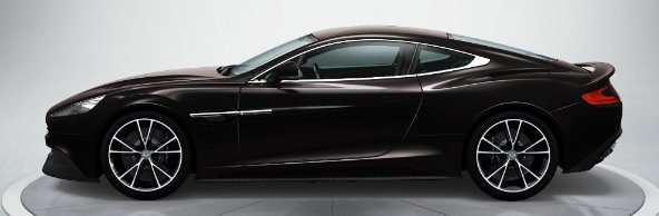 Aston Martin Vanquish in Ceramic Grey
