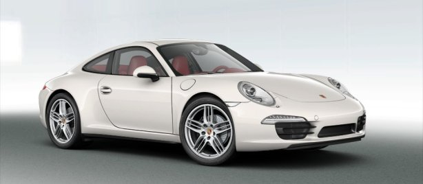 Porsche 911 Carrera 4 Coupe in White