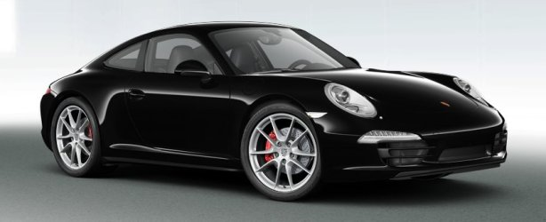 Porsche 911 Carrera 4S in Black