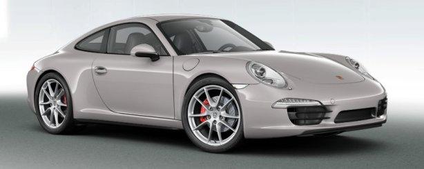Porsche 911 Carrera 4S in Platinum Silver
