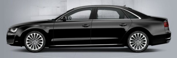 Audi A8 6.3 W12 LWB in Phantom Black