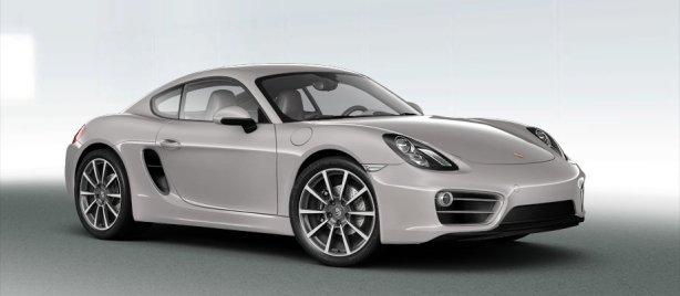 2013 Porsche Cayman in Platinum Silver