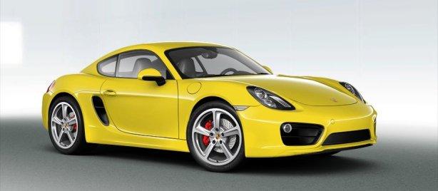 Porsche Cayman S in Racing Yellow