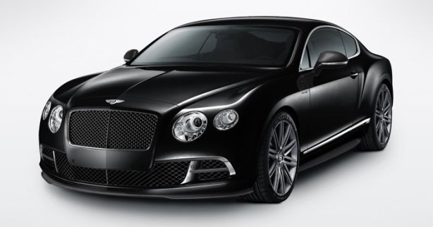 Bentley Continental GT Speed in Onyx Black