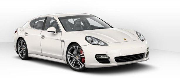 Porsche Panamera S Hybrid in White