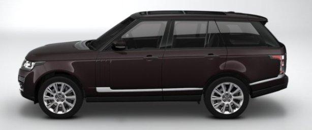Range Rover Autobiography in Barolo Black