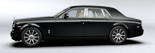 Rolls Royce Phantom II in Diamond Black