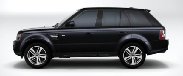 Range Rover Sport TDV6 HSE Red Edition in Black