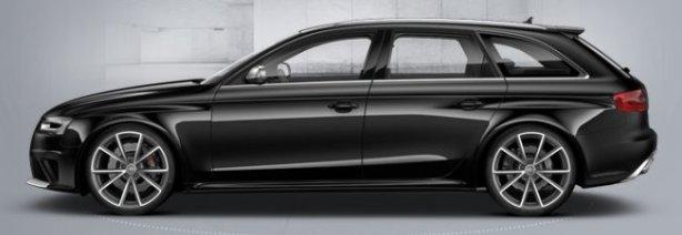 Audi RS4 Avant in Phantom Black