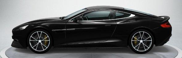 Aston Martin Vanquish in Onyx Black