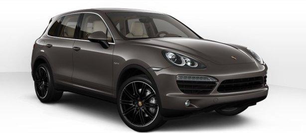 Porsche Cayenne S Hybrid in Meteor Grey