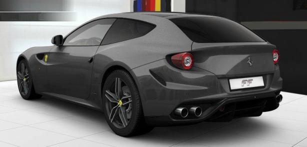 Ferrari FF in Canna Di Fucile
