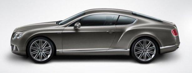 Bentley GT Speed in Granite