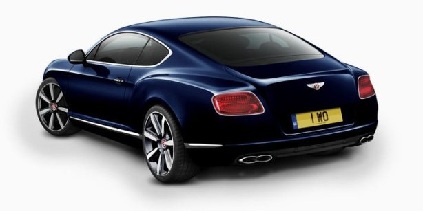 Bentley Continental GT V8 in Dark Sapphire
