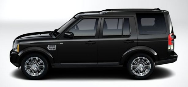 Land Rover Discovery 4 SDV6 HSE Luxury in Santorini Black