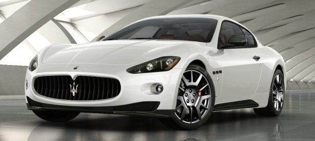 Maserati Granturismo S in Bianco Eldorado