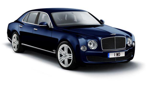 Bentley Mulsanne in Dark Sapphire