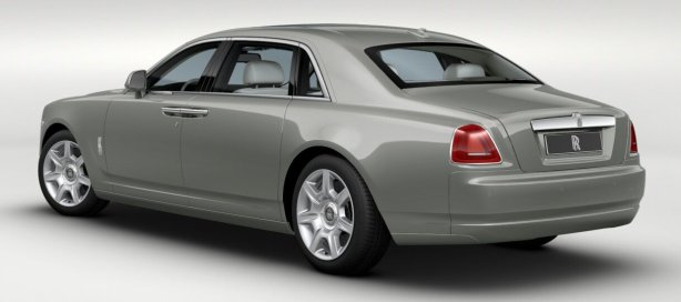 Rolls Royce Ghost EWB in Platinum