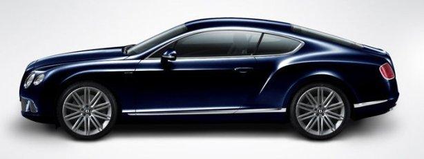 Bentley GT Speed in Dark Sapphire Blue