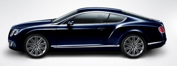 Bentley GT Speed in Dark Sapphire Blue