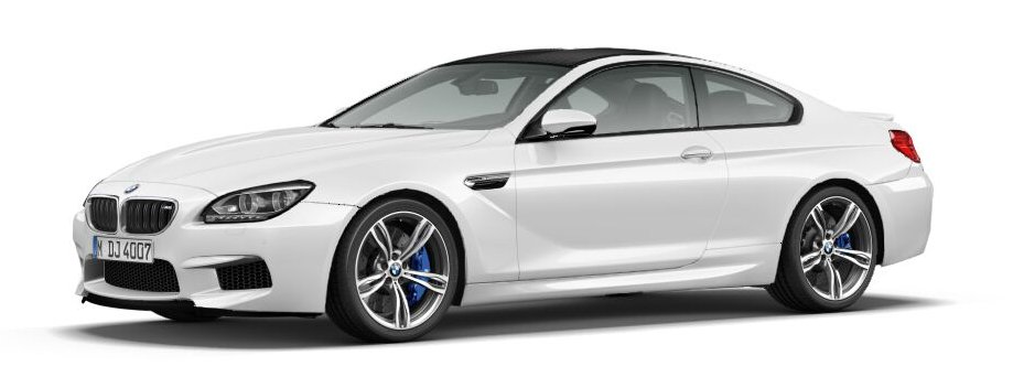 2012 62 bmw f13 m6 coupe in white for sale the car spy. Black Bedroom Furniture Sets. Home Design Ideas