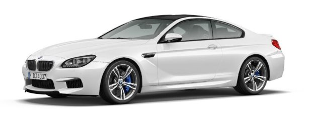BMW M6 Coupe in Alpine White