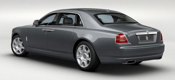 Rolls Royce Ghost EWB in Jubilee Silver