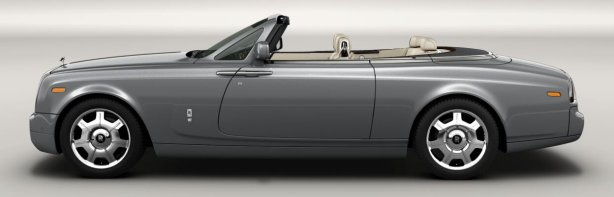 2008 Rolls Royce Phantom Drophead Coupe in Jubilee Silver