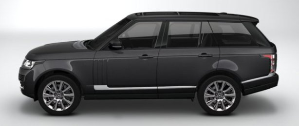 Range Rover Vogue SE in Causeway Grey