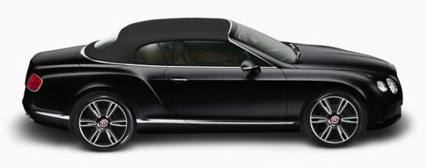 Bentley GTC V8 in Onyx Black/ Saddle