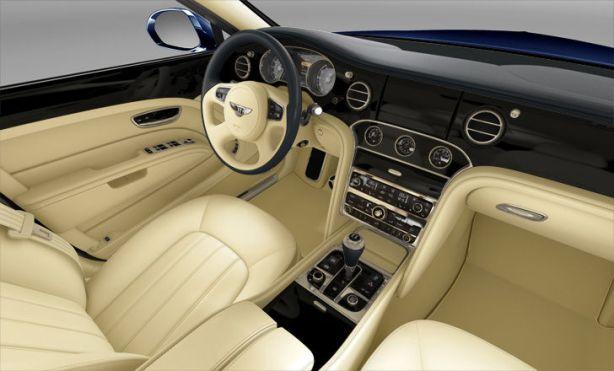Bentley Mulsanne in Dark Sapphire/Twine