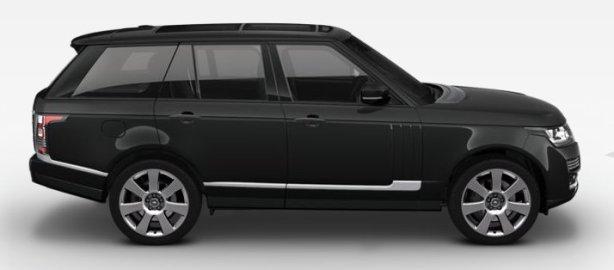 Range Rover SDV8 4.4 Autobiography in Santorini Black