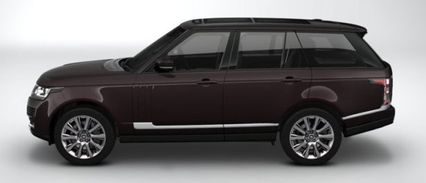 Range Rover SDV8 4.4 Vogue SE in Barolo Black