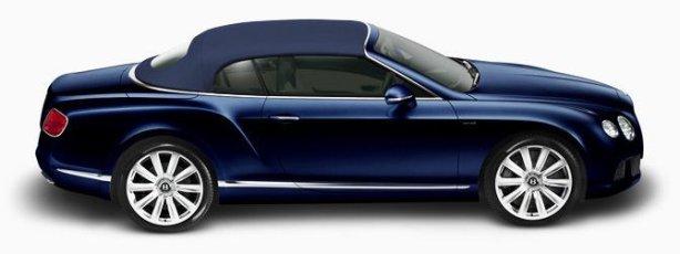 Bentley Continenatl GTC W12 in Dark Sapphire