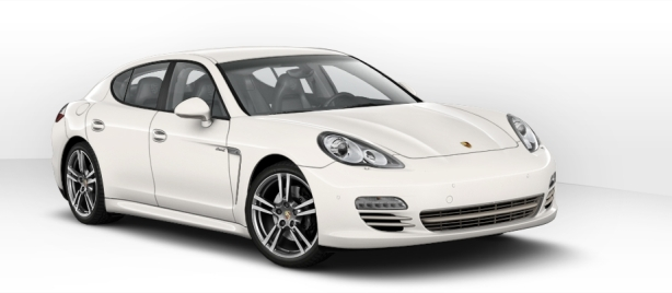 Porsche Panamera Diesel Platinum Edition in White