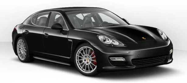 Porsche Panamera Turbo in Basalt Black