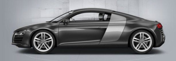 Audi R8 Coupe 4.2 V8 in Daytona Grey
