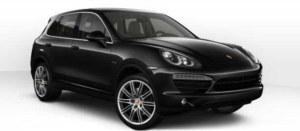 Porsche Cayenne Diesel in Jet Black Metallic