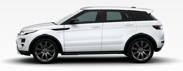 Range Rover Evoque in Fuji White